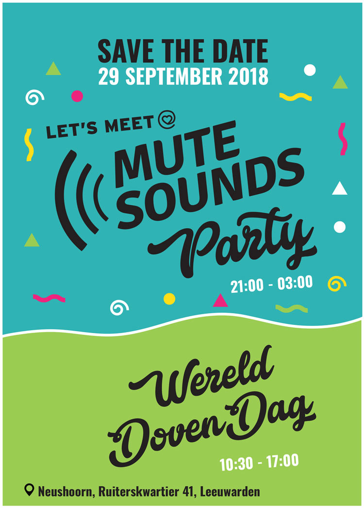 Flyer MuteSounds Party 2018